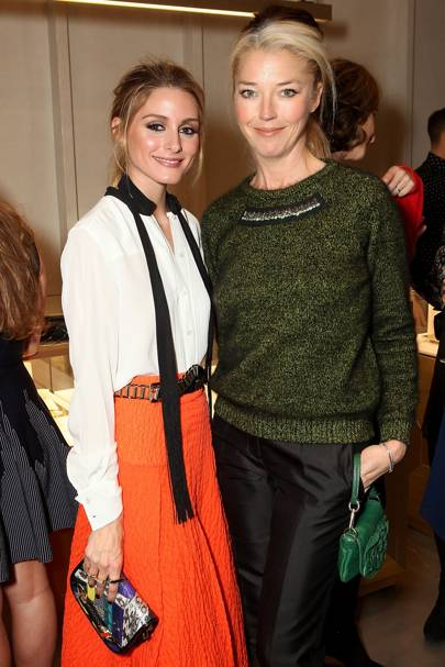 Olivia Palermo and Tamara Beckwith