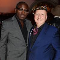 Edward Enninful and Stephen Jones
