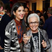 Noor Fares and Rosita Missoni