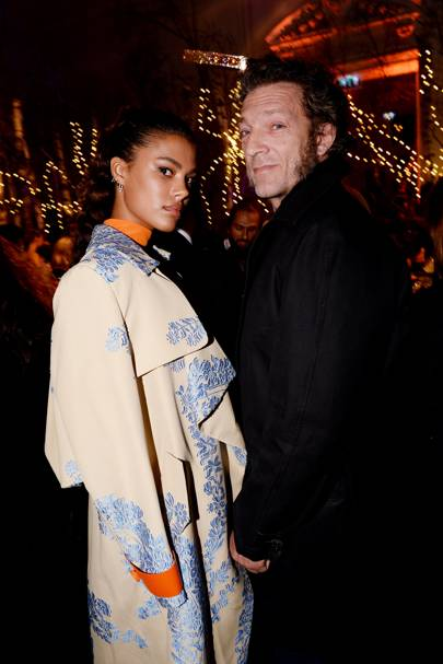 Tina Kunakey and Vincent Cassel