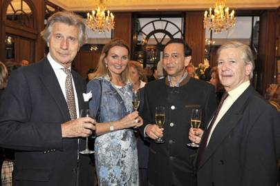 Arnaud Bamberger, Bettina Bahlsen, Karan Thapar and Jock Green-Armytage