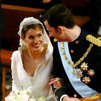 Queen Letizia of Spain and King Felipe VI of Spain