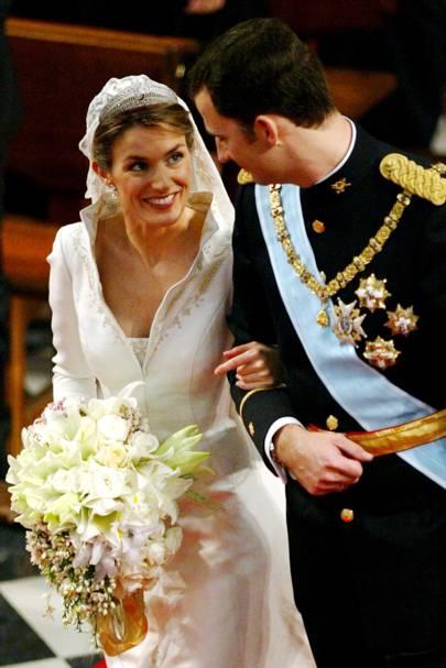 Queen Letizia of Spain and King Felipe VI of Spain