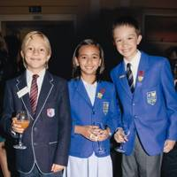 Prince Constantine of Greece, Kristen Santos and Edward McGovern