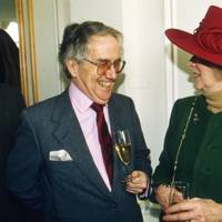 Sir Gordon Reece and Mrs Michael Ward-Thomas