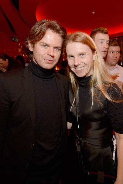 Christopher Kane and Katie Hillier