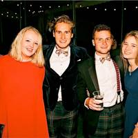 Georgina McKenzie Smith, Owain Morton, Gus Giddins and Charlotte Steele