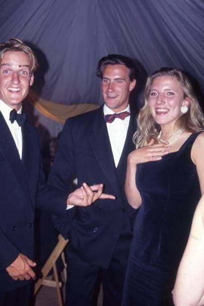 Charles Davies-Gilbert, Alexander van Moppes and Sophie Dingwall