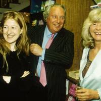Candida Crewe, Leo Cooper and Mrs Leo Cooper