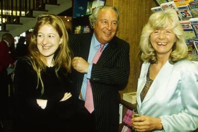 Candida Crewe, Leo Cooper and Mrs Leo Cooper