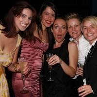Fabiana Fernandes, Larissa de Filippo, Vicki Cooper, Kate Nunn and Hannah Taylor