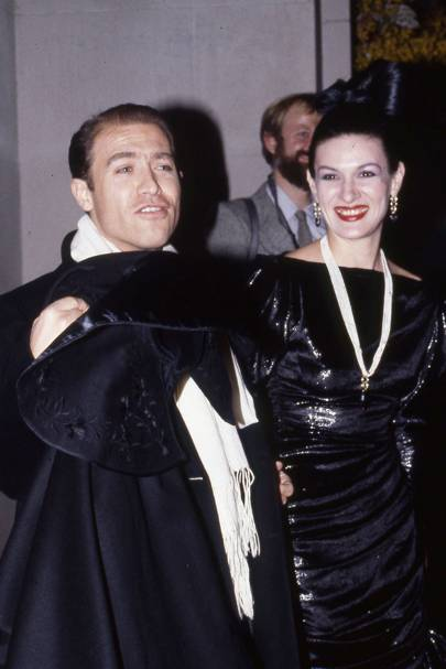 Rafael Lopez Sanchez and Paloma Picasso