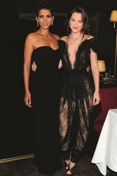 Halle Berry and Leighton Meester
