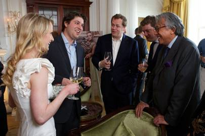 Sasha Donn, Rudi Kainz, Tom Parker Bowles, Alex Bilmes and Sir David Tang