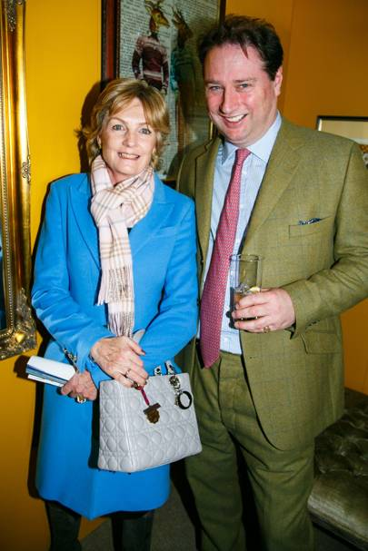 Jo Thornton and Lady Lloyd Webber