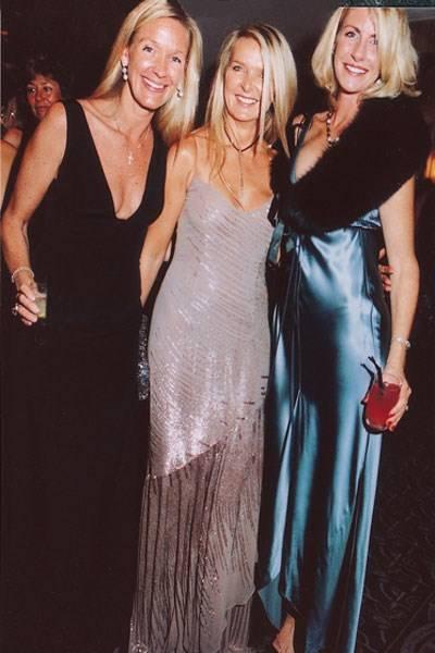 Emma Gibbs, Amanda Wakeley and Baroness Bentinck