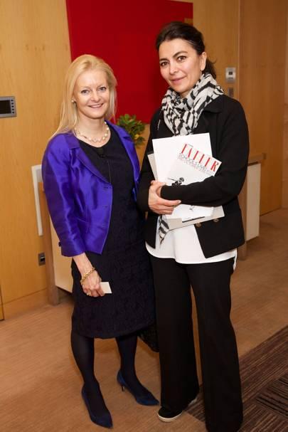 Vivienne Durham and Goli Bagherzadel