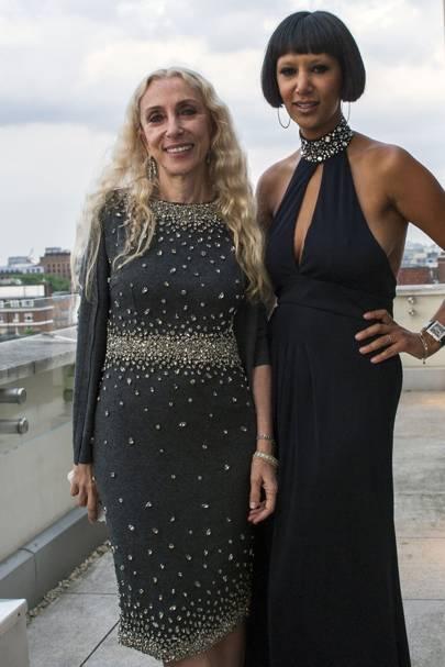 Franca Sozzani and Gelila Puck
