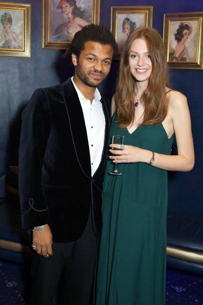 Olivier Huband and Emily Smith