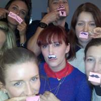 Slam PR Pencil Moustache gang
