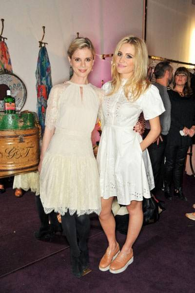 Emilia Fox and Pixie Lott