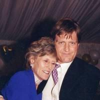 Mrs David Dollar and Grant Barker