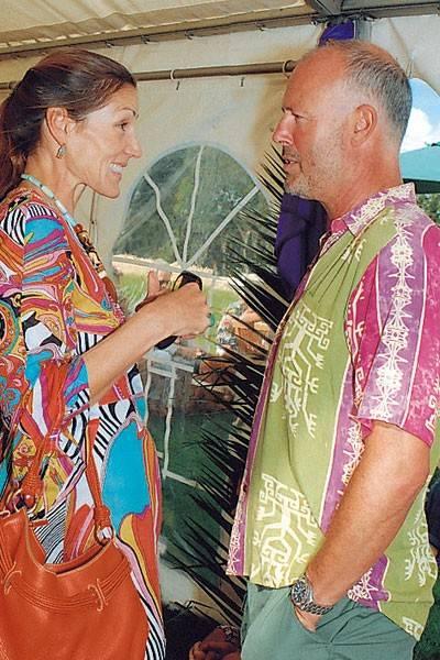 Lady Rotherwick and Simon Oakes
