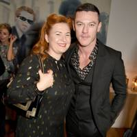 Justine Jenkins and Luke Evans
