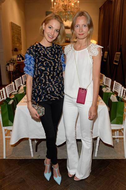 Tess Ward and Martha Ward