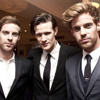 Luke Treadaway, Matt Smith and Harry Treadaway