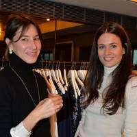 Tessa Packard and Kim Nayar