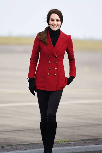 Image result for fashion red military coat