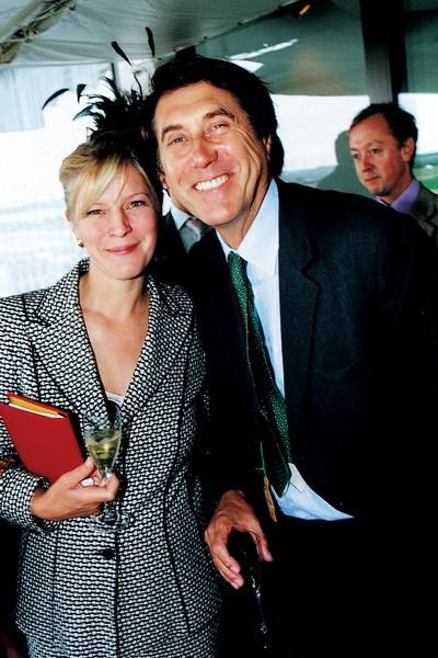 The Countess of March and Kinara and Bryan Ferry