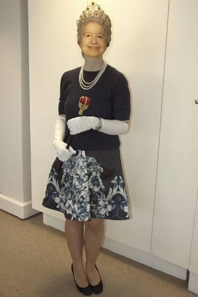 Alice Holland as The Queen