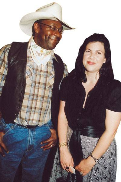 Lenny Henry and the Hon Kirstie Allsopp