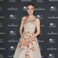 Dakota Fanning at the Jaeger LeCoulture gala dinner