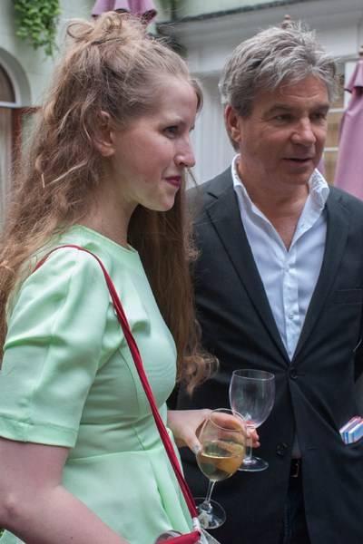Freya Wood and Hugo de Ferranti