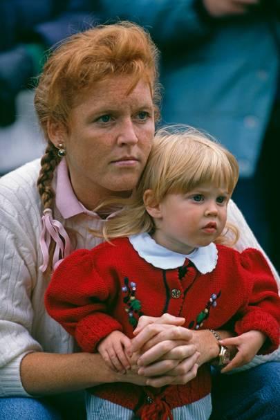 Princess Beatrice and Sarah, Duchess of York