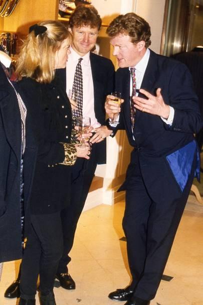 Carol Marner, Lord Rayleigh and Nicholas Kaye