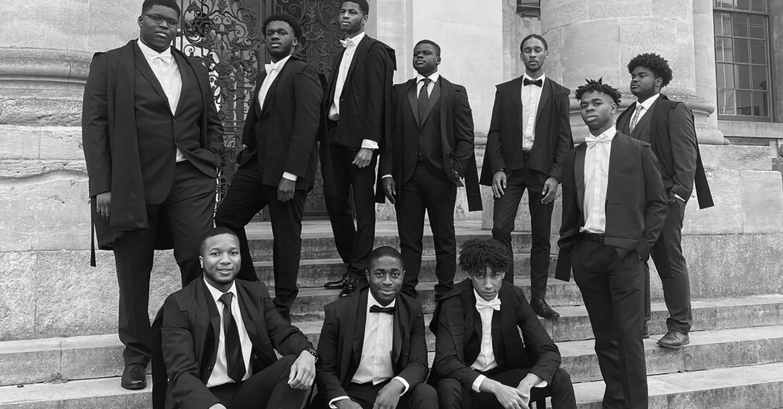 Black Oxford students challenge elitism by recreating Bullingdon Club photo
