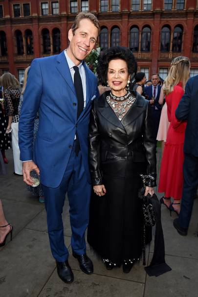 Ben Elliot and Bianca Jagger