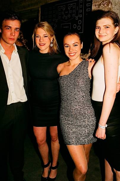 Dominic Lynch, Celina Schreiber, Rebecca Gualandi and Isabelle Smith