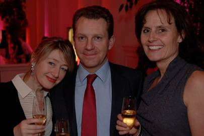 Katie Cooper, Graham Defries and Sam Culhane