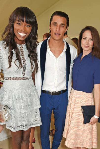 Lorraine Pascale, Staz Nair and Lauren Cuthbertson