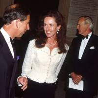 The Prince of Wales and the Hon Mrs Mark Vestey