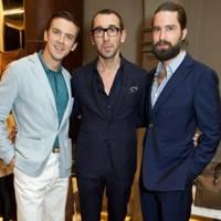 Dan Stevens, Alessandro Sartori and Jack Guinness
