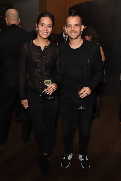 Cristina Pedroche and David Muñoz