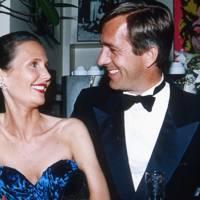 Vicky Ionescu and Baron Jan Wilhem van Lynden