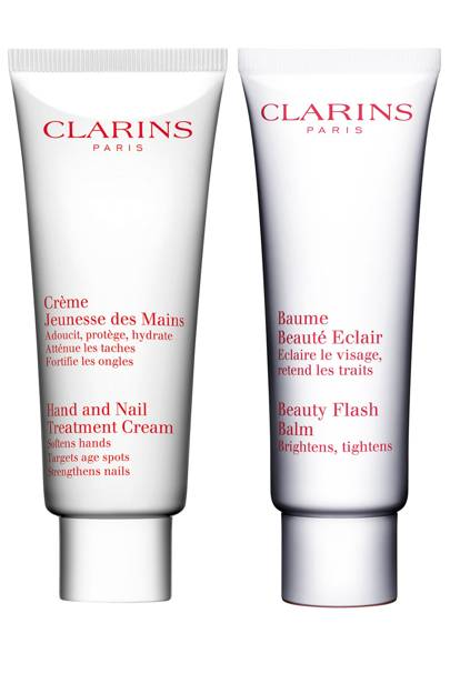Clarins goodie bag