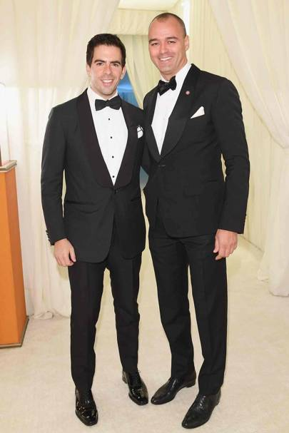 Eli Roth and Milutin Gatsby